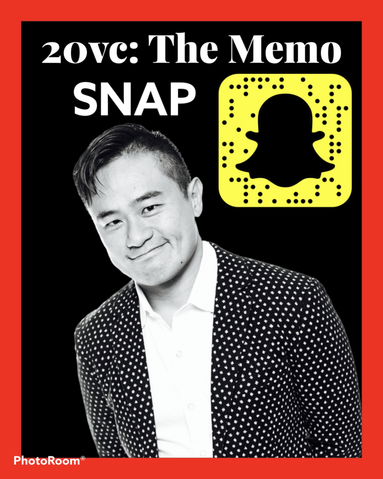 Jeremy Lew on 20VC discussing The Snapchat memo